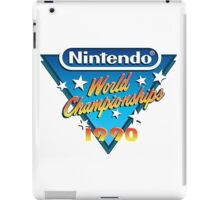 Nintendo World Championships 1990 iPad Case/Skin