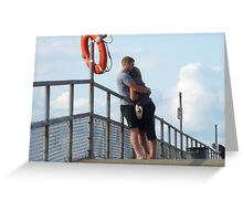 Young Love Is Grand! Greeting Card