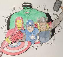Marvel Avengers by adamkap