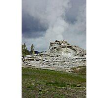 Castle Geyser Yellowstone Photographic Print