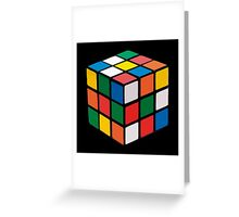 Rubik cube Greeting Card