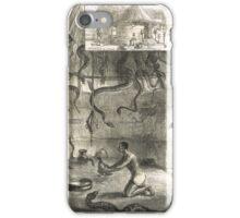 Snake House West Coast of Africa 1876 iPhone Case/Skin