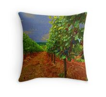Oregon Vineyard Throw Pillow