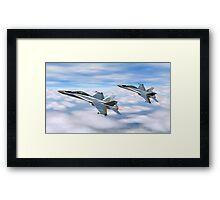McDonnell Douglas F-18 Hornet Framed Print