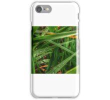 Seattle grass blades iPhone Case/Skin