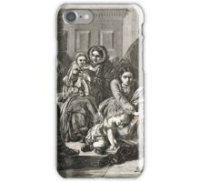 Waiting for the Verdict after A Solomon iPhone Case/Skin