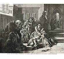 Waiting for the Verdict after A Solomon Photographic Print