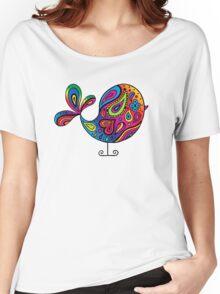 Big Rainbow Bird Women's Relaxed Fit T-Shirt