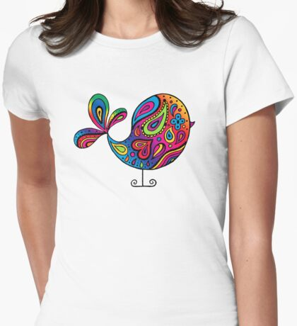 Big Rainbow Bird T-Shirt