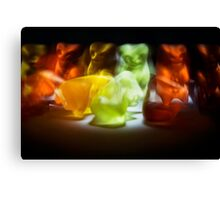 Gummy Bear Photography - Sometimes Slower is Better Canvas Print