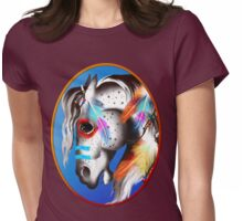 Painted Pony Framed Womens Fitted T-Shirt