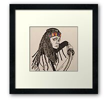 The Walking Dead - Michonne Framed Print
