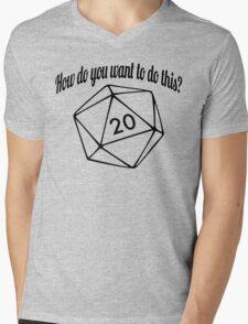How Do You Want To Do This? (No Hashtag) Mens V-Neck T-Shirt