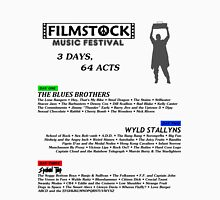 Filmstock Music Festival (black text) Unisex T-Shirt