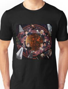 A Tribute to the Five Doctors Unisex T-Shirt