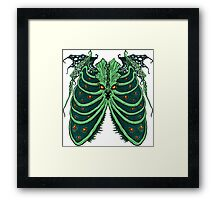 Ribs of the Old God Framed Print