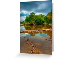 Diving Rod Greeting Card