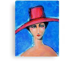 Lady Mott Canvas Print