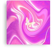 Just Be Happy abstract ART + Product Design Canvas Print