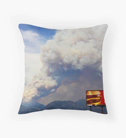 California Burns: Again Throw Pillow
