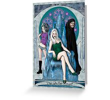 The Winter Court of the Sidhe Greeting Card