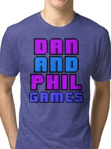 Dan & Phil Games Tri-blend T-Shirt