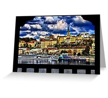 Old Port Belgrade Serbia Fine Art Print Greeting Card