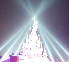 Disneyland Resort Paris Castle 15th Anniversary by DanPraag