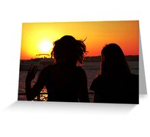 Voyage into the Night Greeting Card
