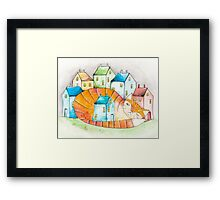 The House Cat Framed Print