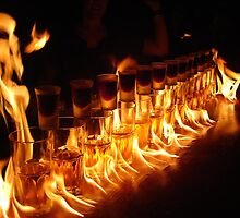 Flaming Jagerbombs by DanPraag
