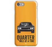 Cinema Obscura Series - The Fast & the Furious - Quarter Mile iPhone Case/Skin