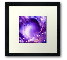 Eye In The Sky ABSTRACT ART + Product Design Framed Print