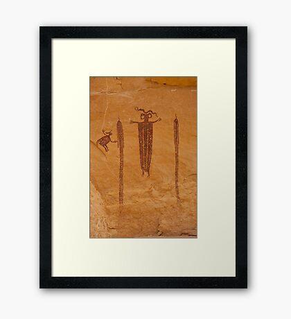Head of Sinbad Framed Print