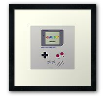 Gameboy Color Classic Framed Print