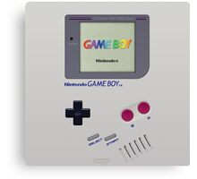 Gameboy Color Classic Canvas Print
