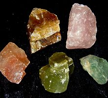 Calcite Colours by Vanessa Barklay