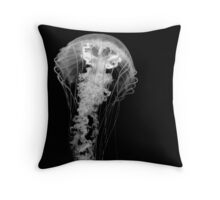 sea ghost Throw Pillow