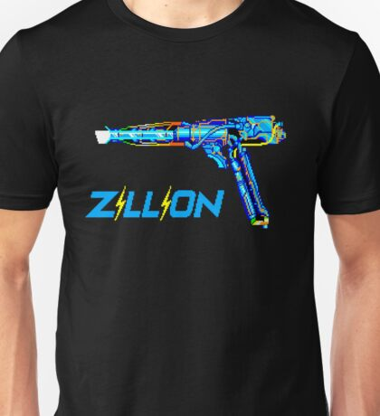 Zillion - SEGA Master System Title Screen Unisex T-Shirt
