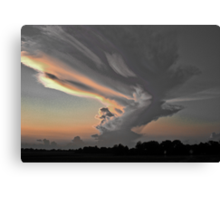 Indiana Clouds Canvas Print