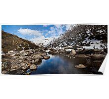 Guthega Mountains Poster