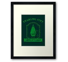 Starling City Vigilante Club 2 Framed Print