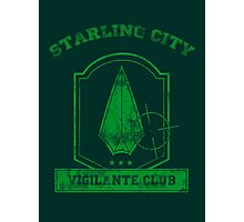 Starling City Vigilante Club 2 Photographic Print