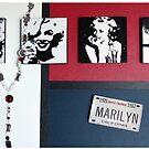 Many Faces of Marilyn by Samitha Hess Edwards