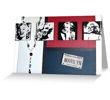 Many Faces of Marilyn Greeting Card