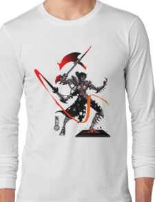 The Game of Kings, Wave Five: The Black Queen's Knight Long Sleeve T-Shirt
