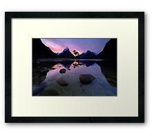 Milford Sound, Fiordland National Park Framed Print