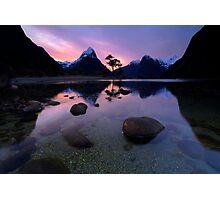 Milford Sound, Fiordland National Park Photographic Print