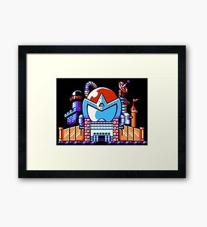 Proto Man (Mega Man) - NES Sprite Framed Print