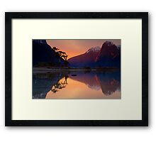 Milford Sound, Fiordland National Park Framed Print